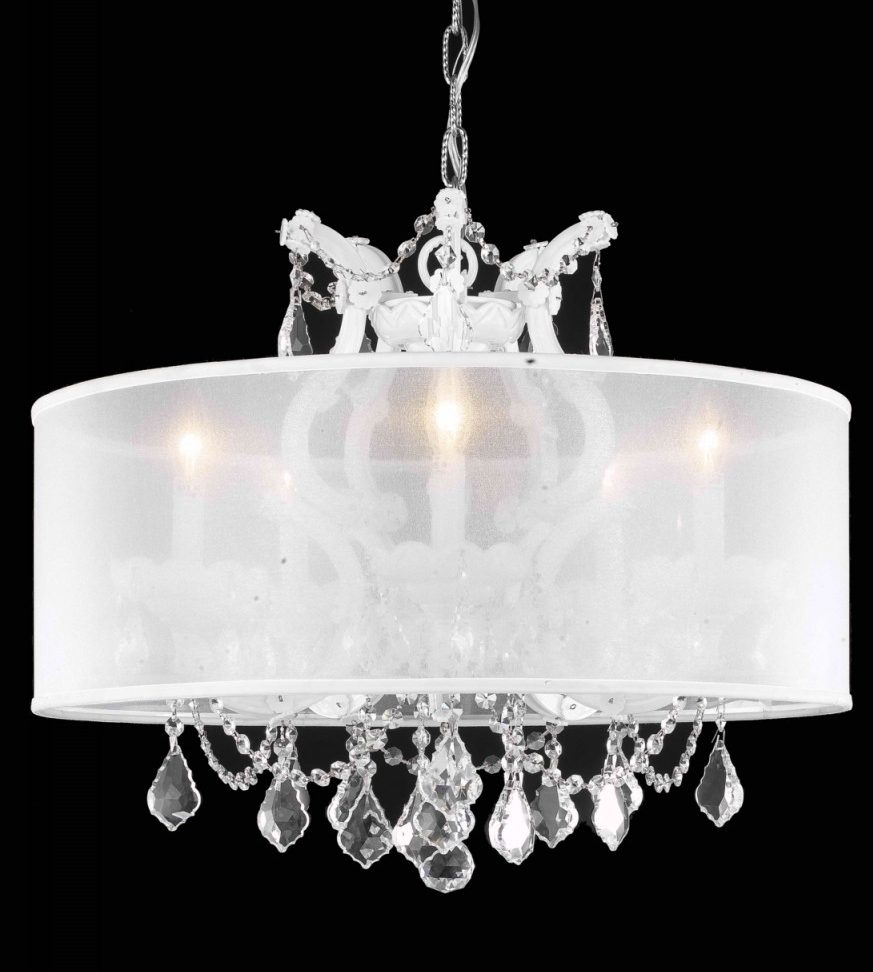 "Gorgeous ambient hanging light fixture 4538 - W23"" H25"" Lts6"
