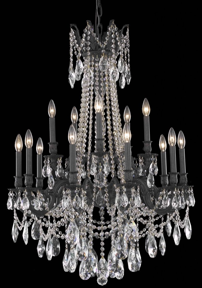 "Fantastic crown of leaves chandelier 4547 - D32"" H42"" LT:18"
