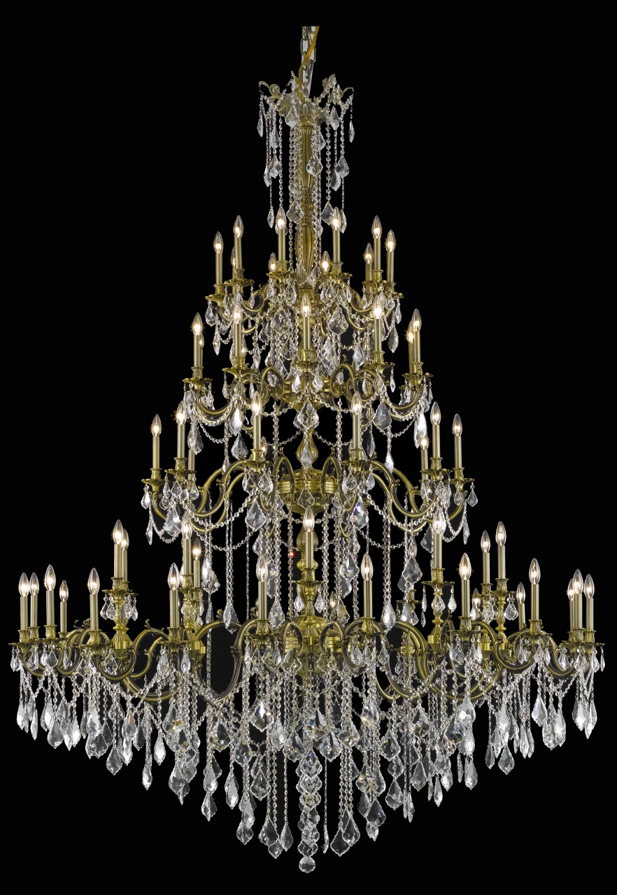 """Gorgeous large scale traditional chandelier 4552 - D72"""" H96"""" LT:60"""
